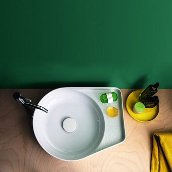 Laufen VAL Раковина-чаша 50х40х12.5 см, без отв., цвет: белый