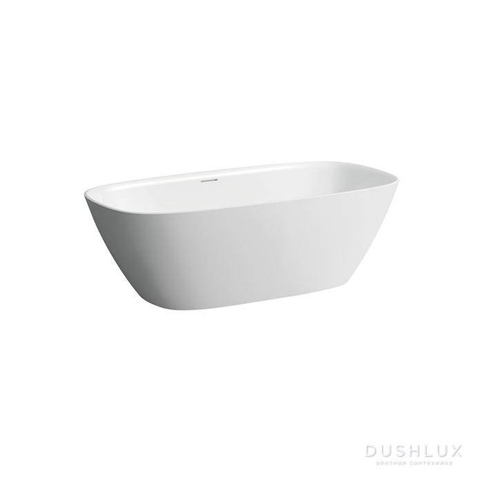 Laufen INO Ванна 1700х750х520мм, отдельностоящая, с слив-переливом, материал: композит, цвет: белый