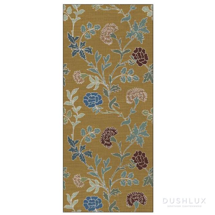 Ornamenta Operae Керамическая плитка 120х278см, настенная, декор: Bloom Ochre