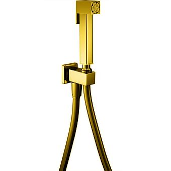 CISAL Shower Гигиенический душ со шлангом 120 см,вывод с держателем, цвет: золото