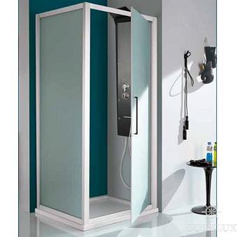 SAMO Europa Душевая дверь 78-84х200, профиль хром, прозрачное стекло