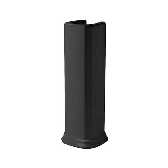 Artceram Civitas Пьедестал для раковины 68 см, цвет: черный