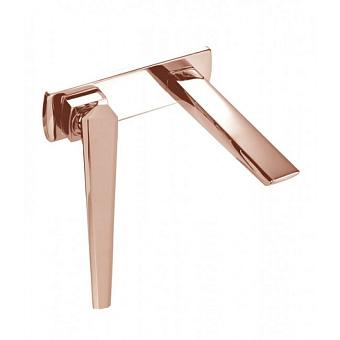 Maier IKON Смеситель для раковины, встраиваемый, цвет: розовое золото