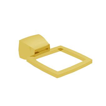 Bertocci Grace Держатель настенный для стакана, мыльницы, дозатора, цвет: золото матовое