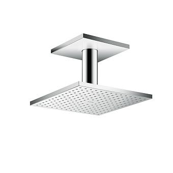 Axor ShowerSolution Верхний душ, 250x250мм, 2jet, с держателем 100мм, потолочный монтаж, цвет: хром