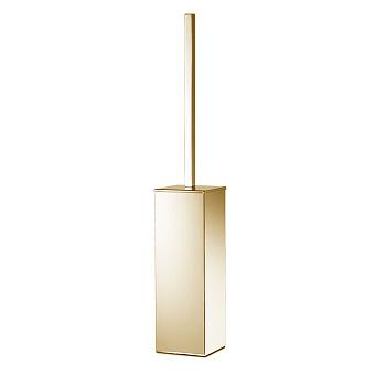 3SC SK Ёршик напольный, длиная ручка, цвет: золото 24к. Lucido