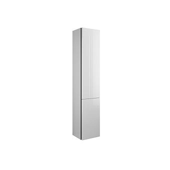 Burgbad Iveo Пенал 176х32х35 см, 2 двери, 4 стекл. полочки, цвет F2833, цвет: белый глянец