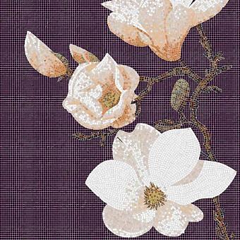 Trend Artistic artwall Мозаика 126.4x252.8см, настенная, стекло, декор: lyric 2