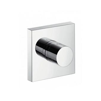 Axor ShowerCollection Запорный/переключающий вентиль Trio/Quattro, внешняя часть 12x12, ½', цвет: хром