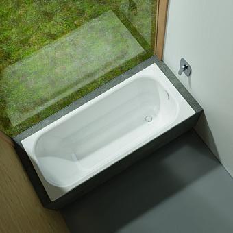 Bette Form Ванна встраиваемая  1700х700х420 мм, с системой антишум., BetteGlasur® Plus, цвет: белый