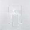 Webert Pegaso Смеситель для душа, встраиваемый, с переключателем на 2 потока, цвет: матовый белый
