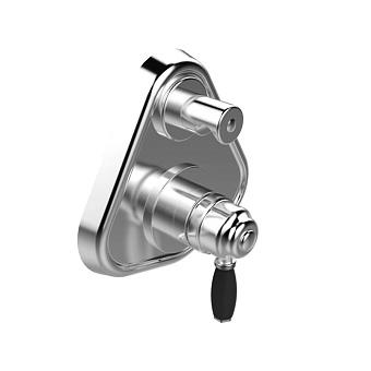 Stella Roma Встраиваемый смеситель для ванны/душа 3254MC P.V. с авт.переключателем, цвет: хром