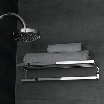 Keuco Elegance New Полка для полотенец, подвесной монтаж, цвет: хром