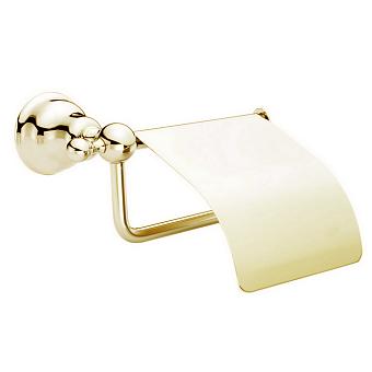 HUBER Croisette Бумагодержатель с крышкой, цвет золото
