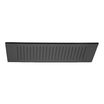 Bongio Soffioni Верхний душ прямоугольный 412х600 мм, цвет: черный