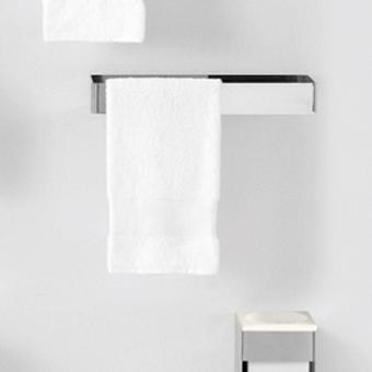 Agape 369 Двойной полотенцедержатель, 36см, цвет: глянец
