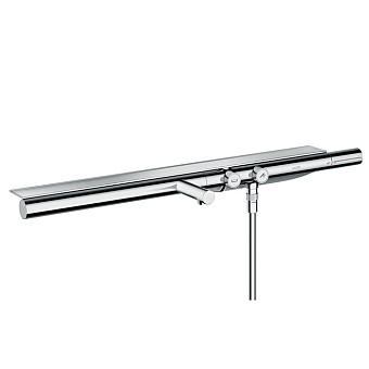 Axor Showers Настенный термостат для ванны, с полкой 713х70мм, 2 потреб., цвет: хром