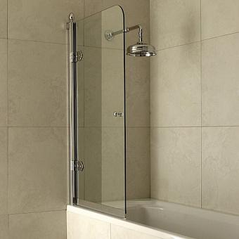 Devon&Devon Savoy Шторка для ванны S 80-82 см, цвет: хром