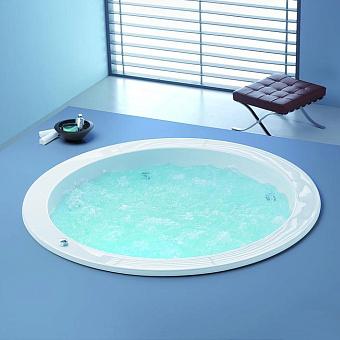 Hoesch Michael Graves Dreamscape Ванна встраиваемая 180хh62см, с гидро и аэромассажем Reviva II Power+Air, цвет: белый