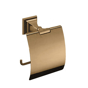Colombo Portofino Держатель для туалетной бумаги, подвесной, цвет: бронза