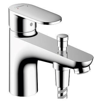 Hansgrohe Vernis Blend Смеситель для ванны, на 1 отв., с ручным душем, цвет: хром