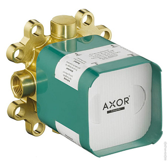 Axor ShowerCollection Скрытая часть верхнего душа 24x24 см, ½', цвет: хром