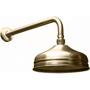HUBER Shower Верхний душ D210 мм Easy Clean без держателя, цвет никель матовый