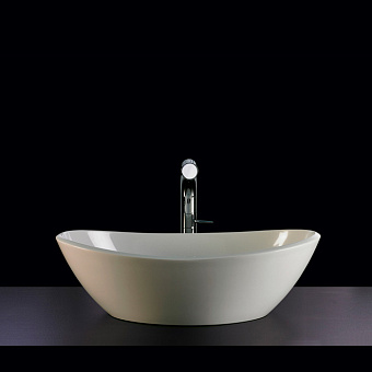 Victoria + Albert Amalfi Раковина 55х34х17 см, без отв., на столешницу, цвет: белый матовый