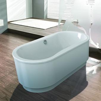 Hoesch Tacna Ванна свободностоящая 180x80x62см, цвет: белый