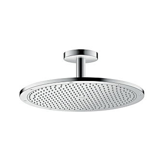 Axor ShowerSolutions Верхний душ, Ø 350мм, 1jet, с держателем 100мм, потолочный монтаж, ½', цвет: хром