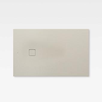 Armani Roca Baia Душевой поддон 120х80х2.8см с боковым сливом, с anti-slip, мат-л: Stonex, цвет: greige