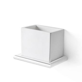 3SC Guy Стакан подвесной, композит Solid Surface, цвет: белый матовый/белый матовый
