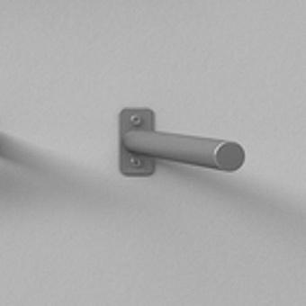 Agape Mach 2 Полотенцедержатель настенный 40.4 см, цвет: сатин