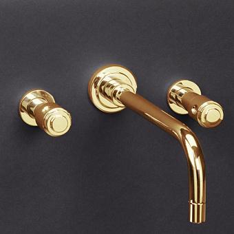 Cristal et Bronze Star Смеситель для раковины, цвет золото 24 к.