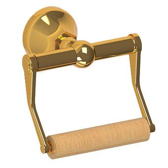 Cristal et Bronze Charléty Настенный держатель для рулонов туалетной бумаги, цвет золото