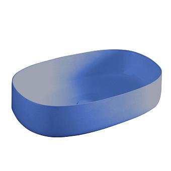 Artceram Cognac Раковина 55x35 см, без отв., накладная, цвет: blu zaffiro