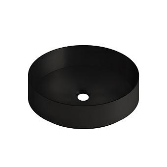 GESSI 316 Раковина Ø400 мм., для установки на столешницу, без перелива, нержавеющая сталь, цвет: Black XL