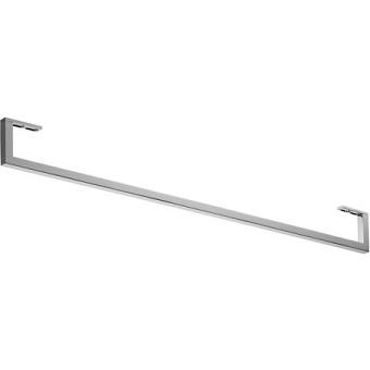 Duravit D-Code Полотенцедержатель труба 604x14 мм с квадратным сечением, подвесной, хром