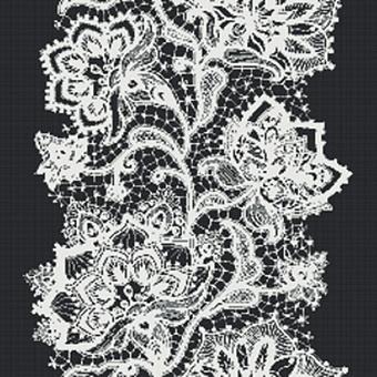 Mosaico+ Decor Мозаика 228.9x261.6см, универсальная, цвет: Crochet Black