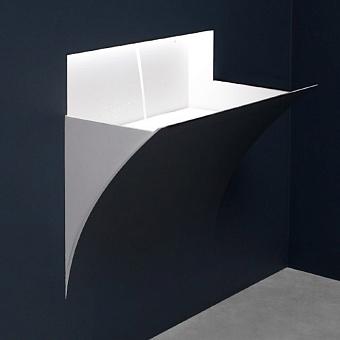 Antonio Lupi Strappoxl Раковина  встраиваемая в стену, 51,3х92,8см, цвет: белый