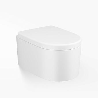 Armani Roca Island Унитаз подвесной 57х38.5х27см, со скрытым креплением, цвет: off-white