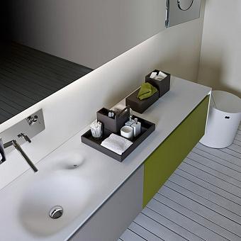 Agape Puzzle Подставка для ящиков 39.2x32.2x18.2 см, цвет: серый