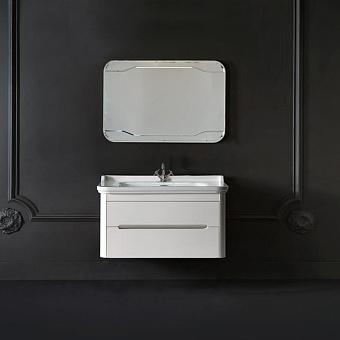 Kerasan Waldorf Комплект подвесной мебели 100см, с 1 ящиком и 1 дверцей. Цвет: матовый белый
