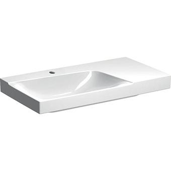 Geberit Xeno² Раковина с полкой, 90х48см, с 1 отв., подвесная, цвет: белый