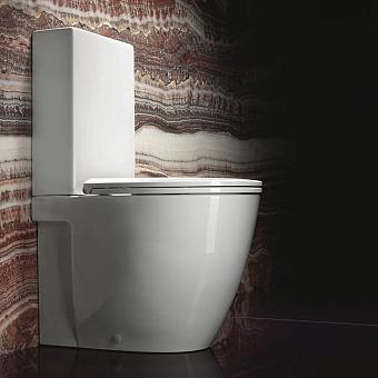 Catalano Velis Унитаз моноблок 62х37 см, с крепежом, механизмом и сиденьем, цвет: белый