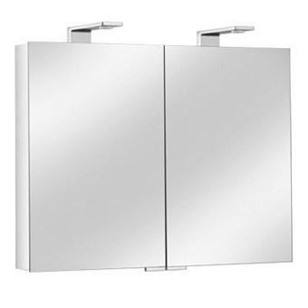 Keuco Royal Universe Зеркальный шкаф с подсветкой 800х752х143 мм, Цвет: Белый