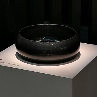 BETTECraft  Раковина-чаша 35х35х12 cм, без отв., накладная, круглая, без перелива, цвет: флинт 414
