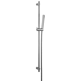 CISAL Xion Душевой гарнитур:ручная лейка,шланг 150 см,штанга 90 см, цвет нержавеющая сталь