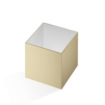 Decor Walther Cube DW 356 Баночка универсальная 13x13x14см, цвет: золото матовое