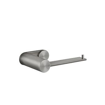Gessi 316 Настенный держатель для туалетной бумаги, горизонтальная/вертикальная установка, цвет: шлифованная сталь